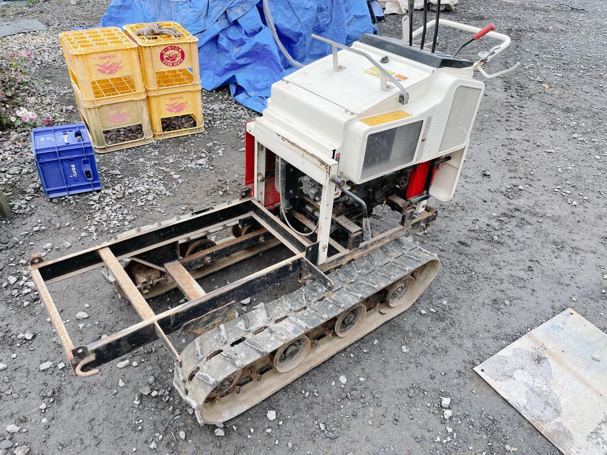 水戸にてヤンマーのディーゼル 運搬車のPKD6のハーベスター改造運搬車を出張買取いたしました