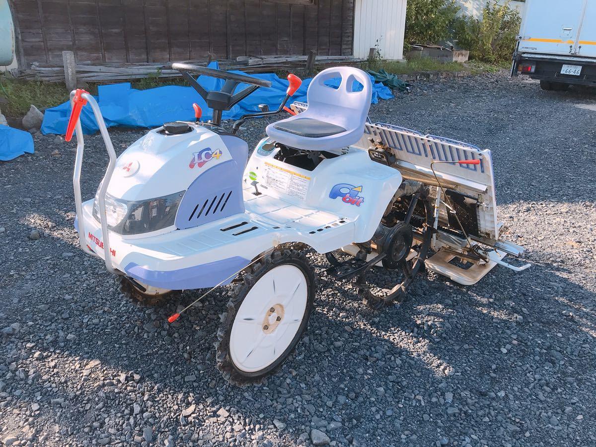 いわきにてMITSUBISHIのクボタLC4の田植機を出張買取いたしました
