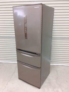 那珂にてパナソニックの冷凍冷蔵庫のNR-C32HM-Tの315Lの2018年製を出張買取いたしました