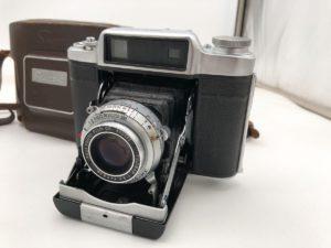 水戸にてSUPER FUJICA-6の蛇腹カメラのレンズ 7.5cm 75mm f/3.5を出張買取いたしました