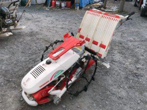 常陸太田にてヤンマーの歩行型田植え機のAP200を出張買取いたしました