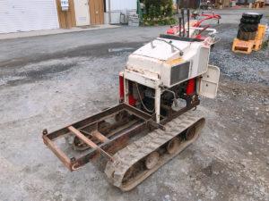 北茨城にてYANMARのディーゼルのPKD6のハーベスター改造 運搬車を出張買取いたしました