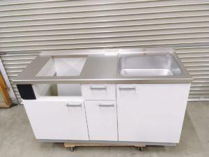 ひたちなかにて未使用のパナソニックのシステムキッチンのMXシリーズを出張買取いたしました