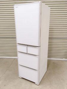 ひたちなかにて日立の5ドアの冷凍冷蔵庫のR-S40Kを出張買取いたしました